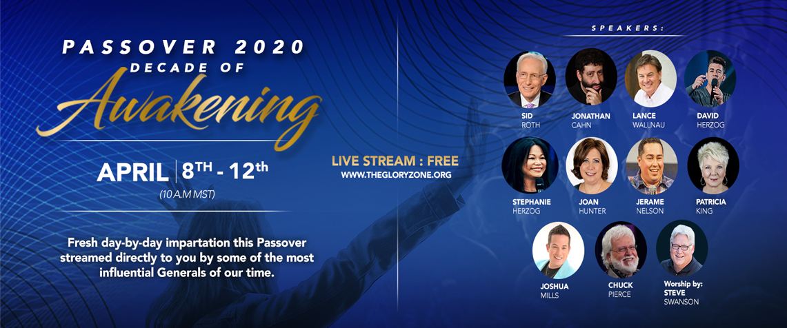 Passover 2020: Decade of Awakening Free Registration